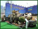 At IDEX 2013, Ukraine defence Industry is represented by the 'Ukroboronprom' State Concern and 'Ukrspecexport' State Company. This year, Ukraine unveils its new 8x8 APC (Armoured vehicle Personnel Carrier) BTR-4MV.
