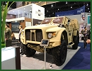 Oshkosh Defense presents a full range of wheeled tactical vehicles at the International Defence Exhibition IDEX in Abu Dhabi, United Arab Emirates. The Oshkosh Light Combat Tactical All-Terrain Vehicle (L-ATV) will make its international debut at IDEX 2013.