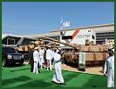 At IDEX, defence exhibition in Abu Dhabi (UAE), the French Company Nexter Systems, and all its subsidiaries display a wide range of products. The main products shown at IDEX 2013, include armoured vehicles and tank as the Leclerc MBT, the 8x8 VBC1 Infantry combat vehicle, to the ARAVIS, the highly protected armoured patrol vehicle.