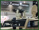 FN Herstal one of the largest leader of small arms manufacturing presents at IDEX 2013, its deFNder® Remote Weapon Station designed, developed and manufactured by the Belgian Company. At IDEX 2013, Renault Trucks Defense will display the deFNder® Light equipped with a 7.62x51mm cal FN MAG® machine gun on its Sherpa SW (Station Wagon) vehicl