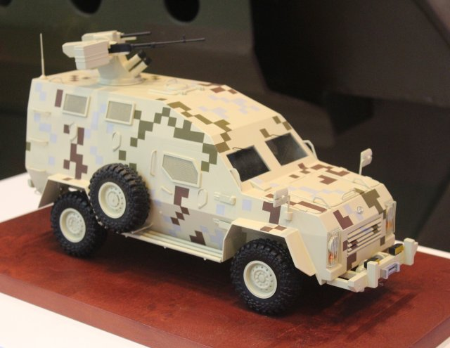 Bodgan Corporation officially presents new Bars 6 armored personnel carrier at IDEX 2015 640 001
