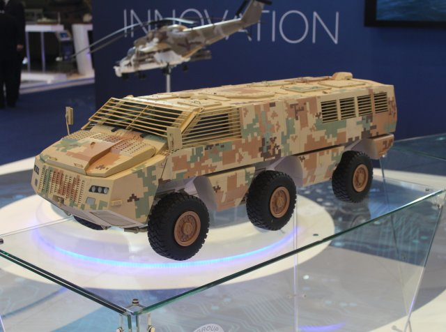 Paramount Group and Jordan sign contract at IDEX 2015 for 50 Mbombe infantry combat vehicles 640 002