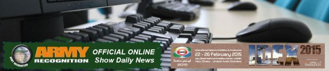 IDEX 2015 Official Online Show daily news coverage report International Defence Exhibition Abu Dhabi United Arab Emirates army military defense industry technology