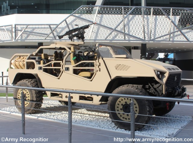 EDIC's NIMR Automotive unveils new Special Operations Vehicle (AJBAN SOV) at IDEX 2015 640 001
