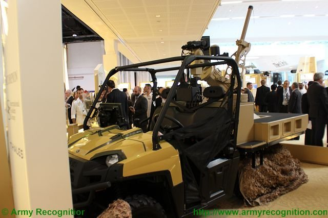 Thales Scorpion Automated Mortar Platform presented at IDEX 2015 640 001