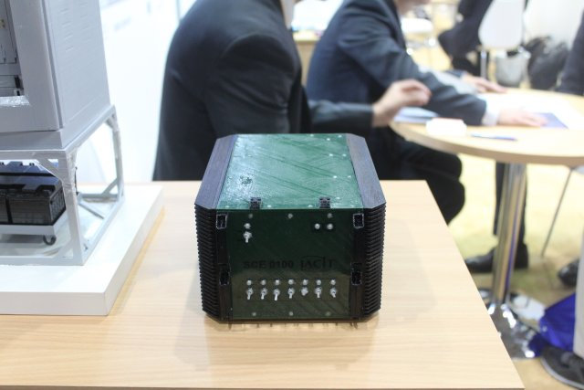 Brazilian IACIT highlights its line of electronic countermeasure systems at IDEX 2017 001