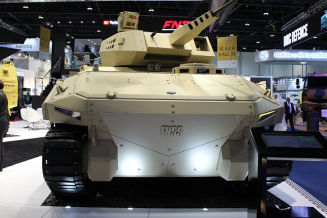 FNSS showcased its KAPLAN NG AFV at IDEX 2017 and promoted its latest innovations  003