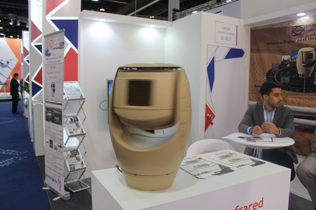 HGH Infrared Systems showcases its Spynel S at IDEX 2017 002