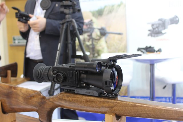 IR D promotes its thermal sighting and surveillance systems at IDEX 2017 640 001