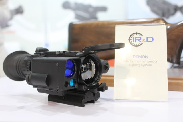 IR D promotes its thermal sighting and surveillance systems at IDEX 2017 640 002