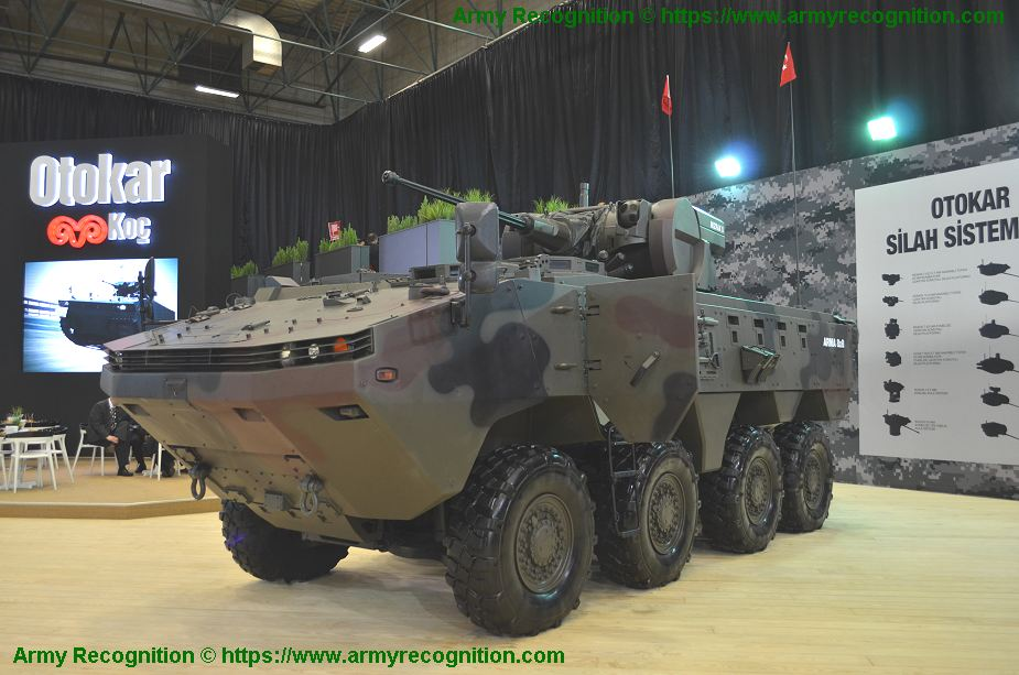 Al Jasoor Heavy Vehicle will deliver more ARMA 8x8 armored vehicle to UAE Army 925 001