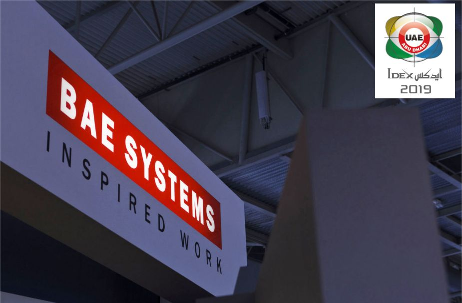 BAE Systems latest technology of land sea and air defence products IDEX 2019 925 001