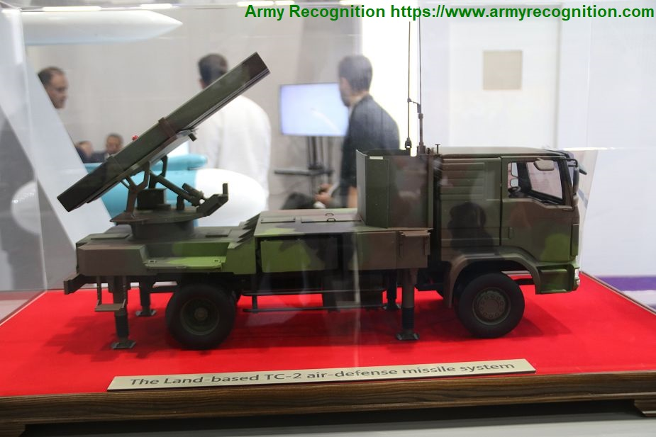 IDEX 2019 Land based TC 2 air defense missile system by NCSIST