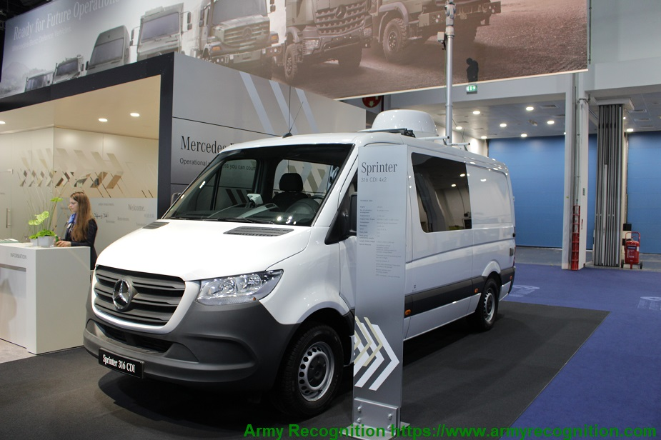 IDEX 2019 Mercedes Benz exhibits the latest Sprinter and more