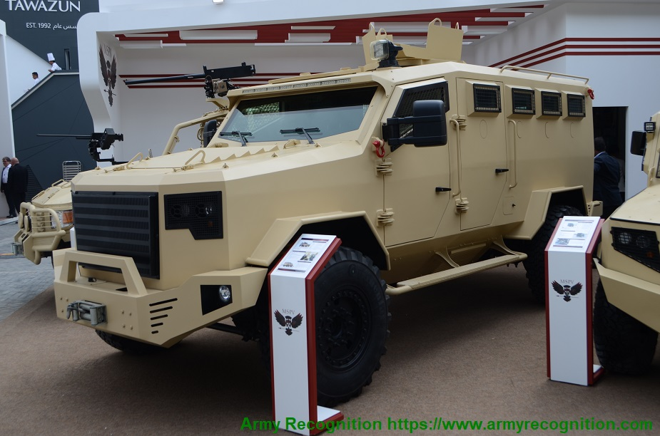 IDEX 2019 Minerva MSPV showcases its Panthera vehicles and more F9