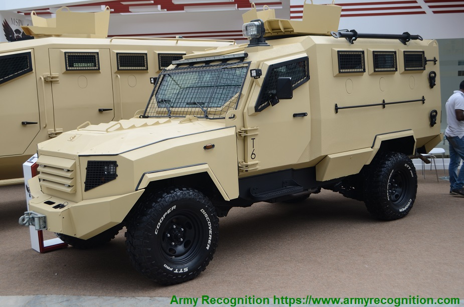 IDEX 2019 Minerva MSPV showcases its Panthera vehicles and more T6 DR