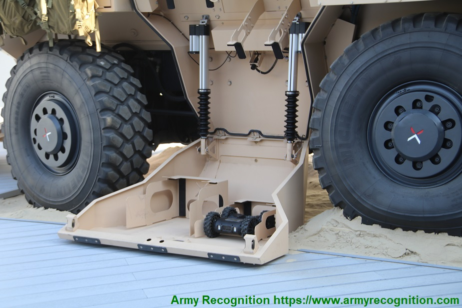 IDEX 2019 Nexter showcases its Findeagle LAND