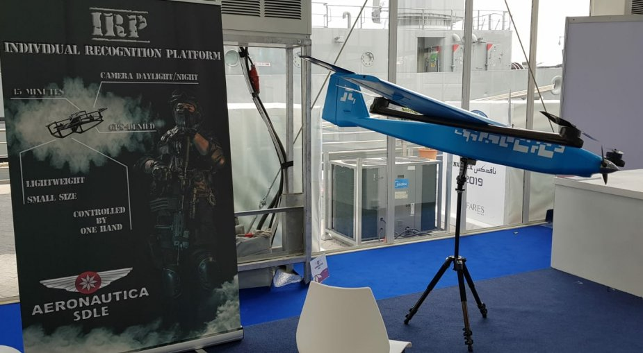 IDEX 2019 SDLE unveiled its latest UAV for special forces