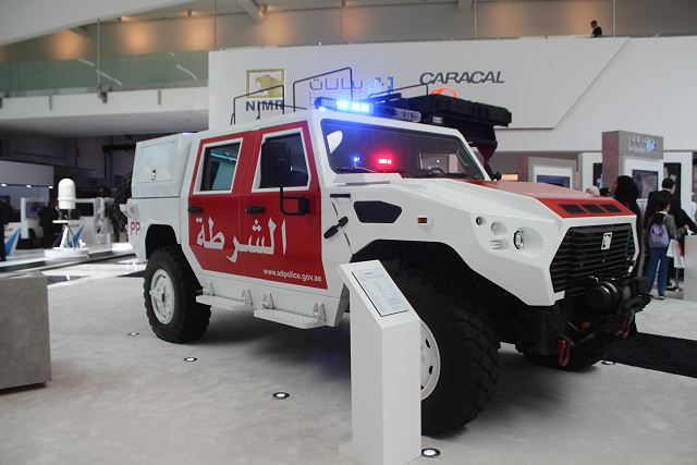 At ISNR 2016 NIMR Automotive from UAE shows its ability to provide multirole 4x4 armored vehicles 640 001