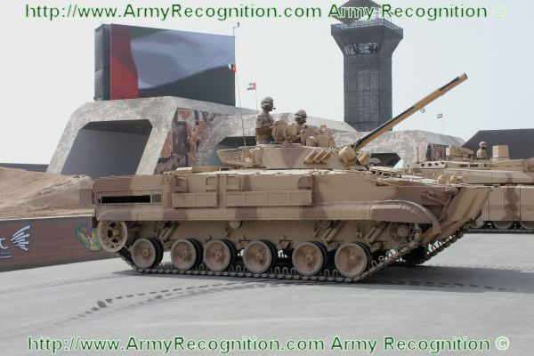 The armed forces of the United Arab Emirates intend to buy a new fleet of wheeled armored vehicles, for a total of 600 units in personnel carrier and armoured fighting vehicle variant. Several European companies already made a proposal within the framework of this request, of which Nexter (France), General Dynamics European Land Systems, Rheinmetall (Germany) and Patria (Finland).