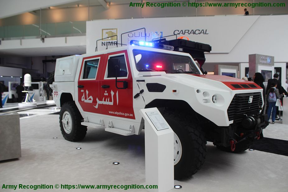 Ajban 440 4x4 tactical logistic utility military vehicle 4 man cab Nimr Automotive UAE United Arab Emirates defense industry 925 001