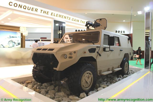 Ajban 450 4x4 tactical logistic utility military vehicle 4 man station wagon cabin Nimr Automotive UAE United Arab Emirates defense industry 640 001