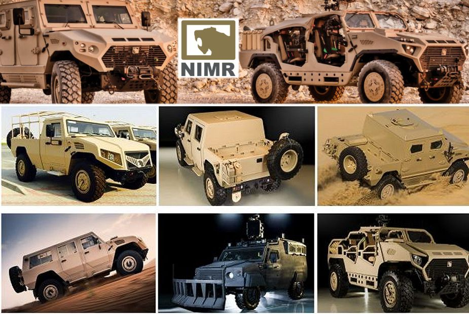 Ajban class 4x4 tactical multipurpose multirole platform military vehicle Nimr Automotive United Arab Emirates UAE defense industry 925 002