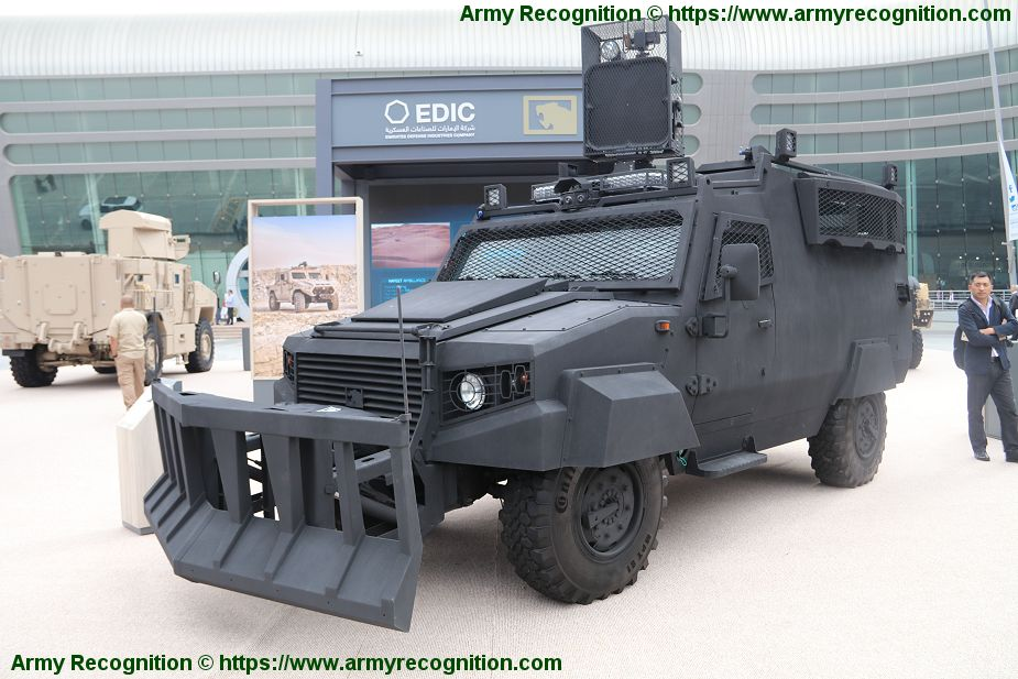 Ajban ISV 4x4 Internal Security Vehicle NIMR Automotive UAE United Arab Emirates defense indusry 925 001