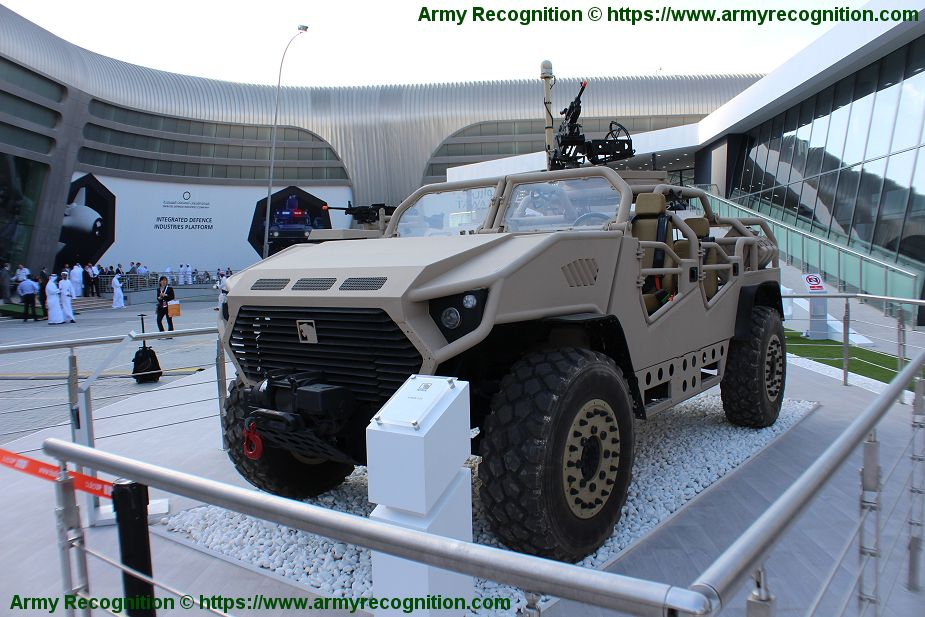 Ajban SOV NIMR 4x4 Special Operations Vehicle long range reconnaissance UAE United Arab Emirates defense industry army 925 001