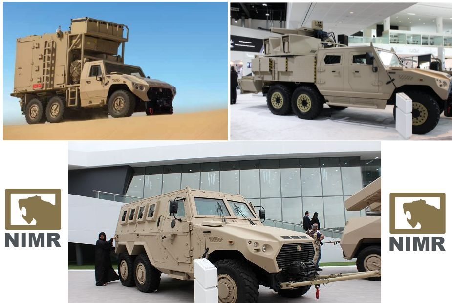 Hafeet Class APC 6x6 multipurpose tactical armoured vehicle NIMR Automotive UAE United Arab Emirates defense industry 925 001
