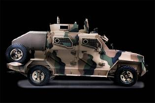 Hornet INKAS 4x4 pickup design 4x4 APC armored personnel carrier vehicle right side view 001