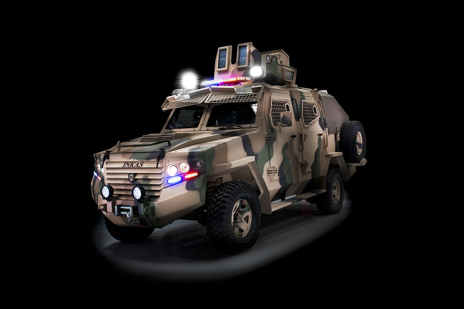 Titan APC 4x4 armoured vehicle personnel carrier INKAS UAE defense industry 925 001