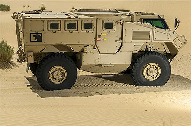 N35 4x4 mine protected motorised infantry armoured vehicle UAE United Arab Emirates NIMR Automotive industry 640 001