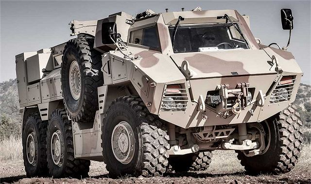 N35 6x6 multipurpose mine protected vehicle NIMR Automotive UAE United Arab Emirates defense industry 001