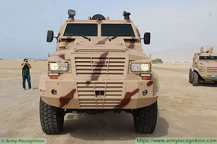 Rila 4x4 MRAP Mine Resistant Ambush Protected vehicle APC personnel carrier IAG United Arab Emirates front view 001