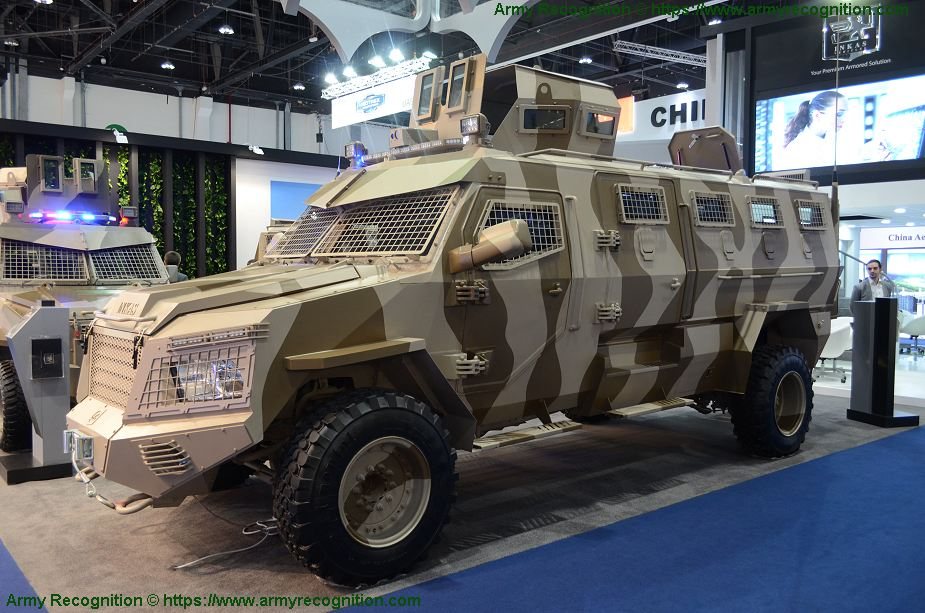 Titan D APC 4x4 armoured vehicle personnel carrier INKAS UAE defense industry 925 001