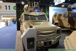 Titan S APC 4x4 armoured vehicle personnel carrier INKAS UAE defense industry 640 front view 001