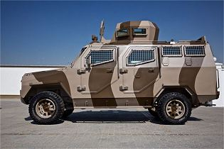 Titan S APC 4x4 armoured vehicle personnel carrier INKAS UAE defense industry 640 left side view 001