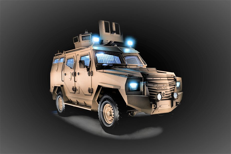 Titan S APC 4x4 armoured vehicle personnel carrier INKAS UAE defense industry 925 001