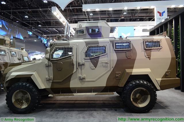Titan APC 4x4 armoured vehicle personnel carrier INKAS UAE defense industry 005