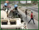 "The UN has decided to send an additional 2000 troops to bolster its force in Ivory Coast, citing ""deep concern over the continuing violence and human rights violations."""