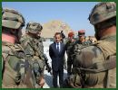 French President Nicolas Sarkozy has announced that his country will pull out at least 1,000 troops from Afghanistan by the end of next year. His announcement came Tuesday during his visit to the war-hit nation.