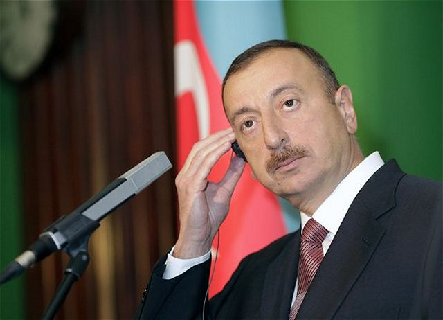 Azerbaijan's President Ilham Aliyev, who has ramped up his country's military power with recent arms deals, has said Azerbaijan is willing to go to war with Armenia to reclaim Nagorno-Karabakh.
