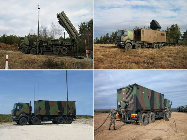 The Direction générale de l'armement DGA (Procurement agency of French Army) in March and May handed over two additional Sol-Air de Moyenne Portée Terrestre (medium-range surface-to air systems, ground-based, or SAMP/T) systems to the French army air force, bringing the number of systems it operates to five.