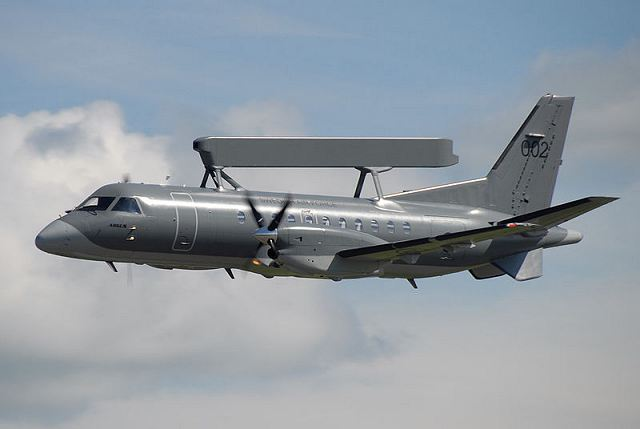 A group of British observers on board of a Swedish SAAB-340 aircraft will make a series of inspection flights over the Russian territories under the Open Skies Treaty on June 20-24, a spokesman for the Russian Defense Ministry said.