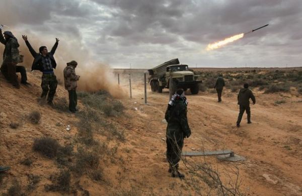 Outgunned and ill-trained, Libya's rebels look increasingly vulnerable in the face of Colonel Gaddafi's ferocious firepower. Forces loyal to Libyan leader Col Muammar Gaddafi have made major gains against anti-government rebels, pushing them from two key areas.