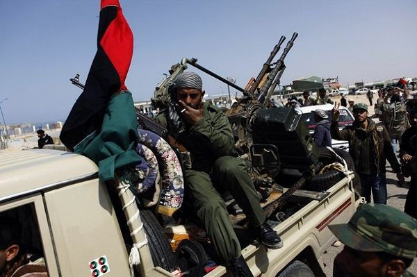 In Libya, convoys of jubilant rebel forces are pushing westwards into the heartland of the Gaddafi regime. It comes after they reportedly took control of the eastern coastal towns of Ras Lanuf, Brega and Uqayla. Pressure from the allied airstrikes forced government forces to fall back.