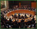 The United Nations Security Council on Thursday March 17, 2011, adopted a resolution on Libya that imposes a no-fly zone over the African state and authorizes possible military action except for ground forces.