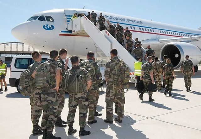A team of French military doctors headed to the Syria-Jordan border on Thursday, August 9, 2012, to set up a mobile hospital to treat refugees fleeing Syrian violence.