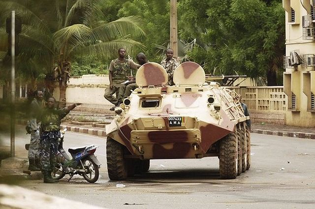 "France will support African military intervention in Mali to crack down on Islamist insurgents but will not send troops, French Defense Minister Jean-Yves Le Drian said Sunday, August 5, 2012.. ""An African military intervention is desirable and inevitable,"" Le Drian told France Info Radio."